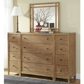 New Haven 4-drawer Chest with Optional Mirror and Piers