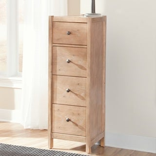 Greyson Living New Haven 4-drawer Tall Pier Nightstand