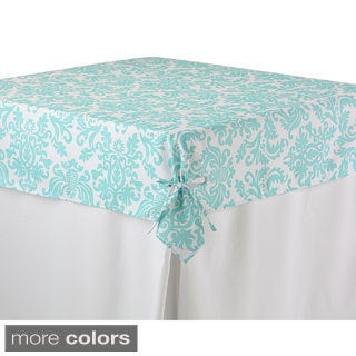Printed Fitted Tablecloth Topper