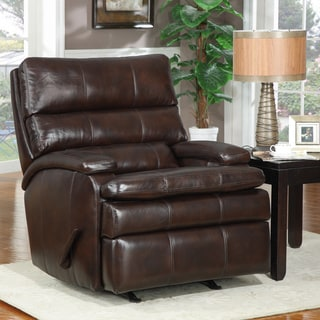At Home Designs Belmont Mocha Transitional Recliner