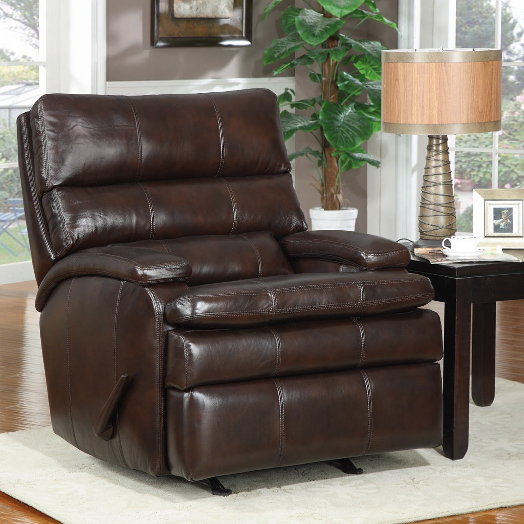 At Home Designs Belmont Mocha Transitional Recliner at Sears.com