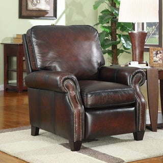 At Home Designs Verona Bordeaux Classic Recliner