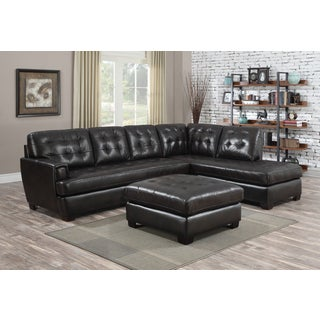 At Home Designs Mason Mocha 3-piece Sectional