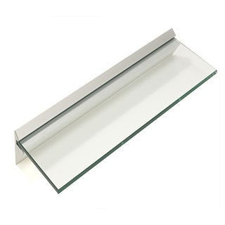 "Capri 8"" x 36"" Clear Glass Shelf Kit"