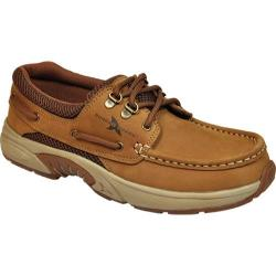 Men's Rugged Shark Atlantic Copper Crazy Horse Leather