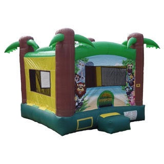 JumpOrange Commercial Grade Safari Inflatable Bounce Castle