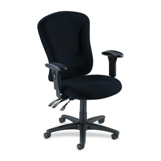 Lorell Accord Fabric Swivel Task Chair