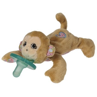 Wubbanub Pacifier in Maddie Monkey