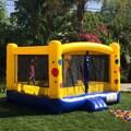 JumpOrange Jr. Kiddo Bubble Party Bounce House