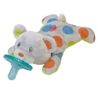 Wubbanub 6-inch Pacifier in Confetti Teddy