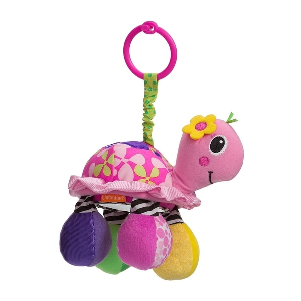 Infantino Topsy Turvy Mirror Pal in Pink
