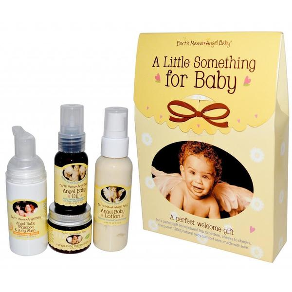 Earth Mama Angel Baby Little Something for Baby 4-piece Gift Set