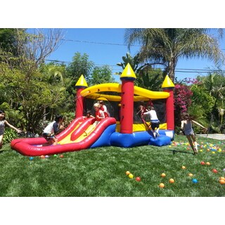 JumpOrange Kiddo Jump and Water Slide Fun House