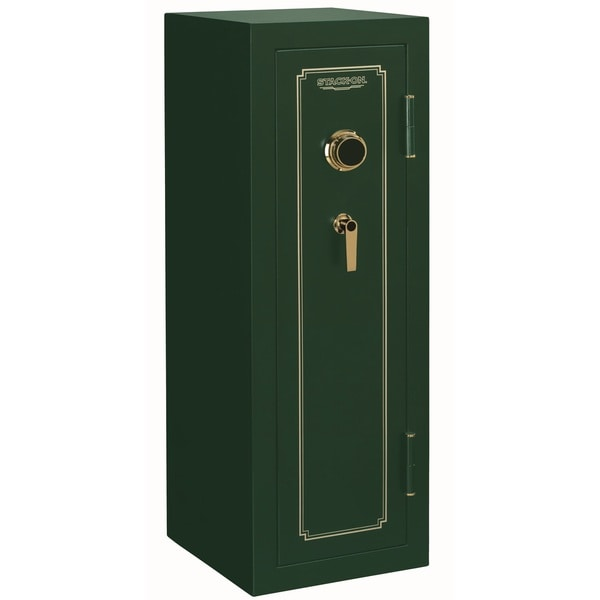 Stack-On Green 14-gun Combination Lock Safe