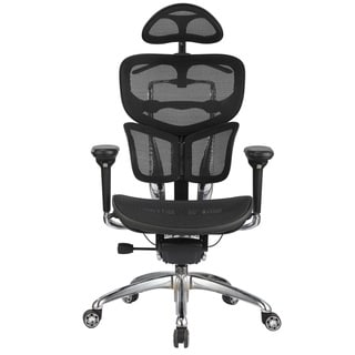 Integrity Seating Adjustable High-Tech Mesh Luxury Butterfly Office Chair with Head Rest
