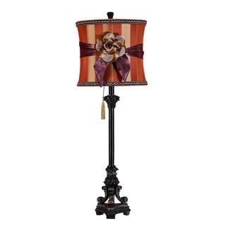 33-inch Polystone Table Lamp
