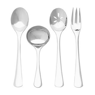 Ginkgo Mariko 4-piece Stainless Steel Hostess Serving Set