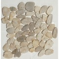 Birch Flat Pebble Mesh Tile (Pack of 5)
