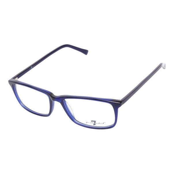 7 For All Mankind 750 Indigo Prescription Eyeglasses