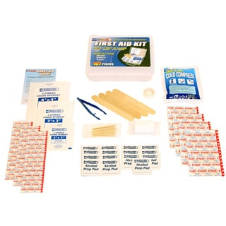 107-piece First Aid Kit (Set of 5)