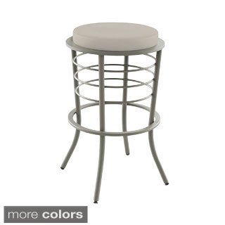 "Amisco Broadway 30"" Metal Stool"