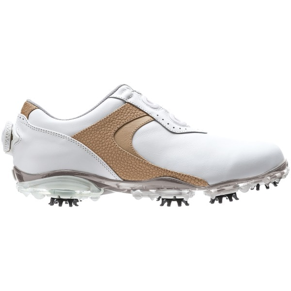 FootJoy DryJoys Womens White Leather BOA Golf Shoes