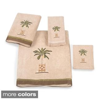 Avanti Banana Palm Embellished 4-piece Towel Set