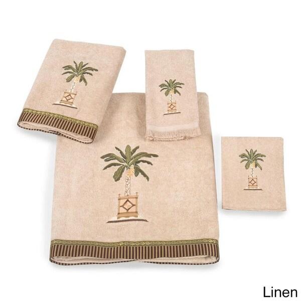 Avanti Banana Palm Embellished 4-piece Towel Set 13159413