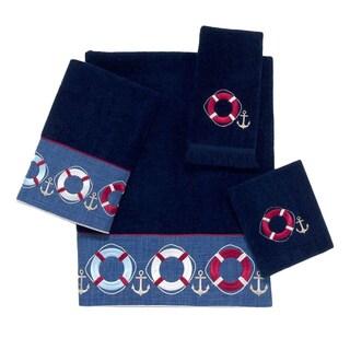 Avanti Life Preservers Tan Embellished 4-piece Towel Set