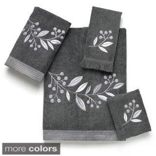 Avanti Madison Granite Embellished 4-piece Towel Set