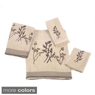Avanti Laguna Embellished 4-piece Towel Set