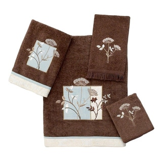 Avanti Queen Anne Brown Embellished 4-piece Towel Set