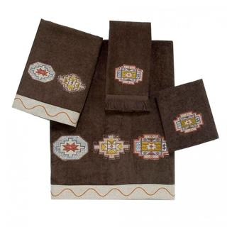 Avanti Tagine Brown Embellished 4-piece Towel Set