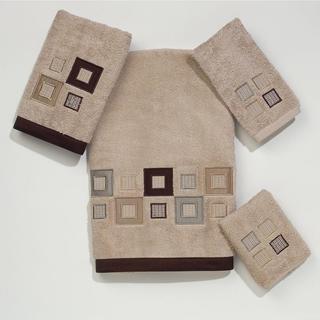 Avanti Premier Metropolis Off-White Embroidered Towel Set