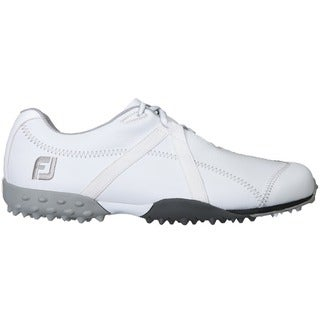 FootJoy Womens M Project White Leather Spikeless Golf Shoes