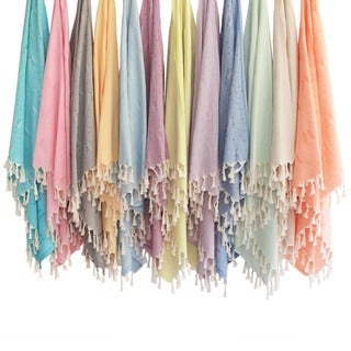 Butterfly Pestemal Fouta Turkish Cotton Bath and Beach Towel