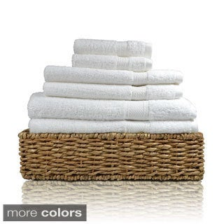 Cotton Two-ply Color Safe 6-piece Towel Set