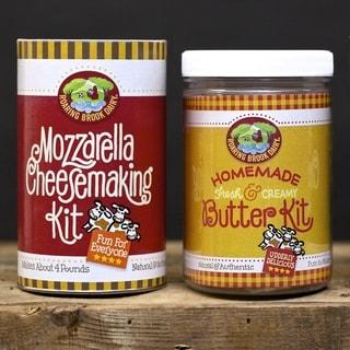 DIY Mozzarella Cheesemaking and Homemade Butter Kits