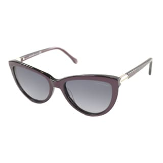 Roberto Cavalli Women's RC 787 71B Bordeaux Sunglasses