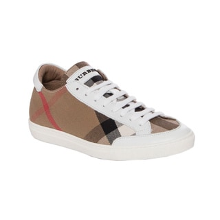 Burberry Hartfields House Check Sneakers