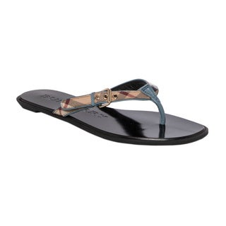 Burberry Parsons Leather Flip-flops