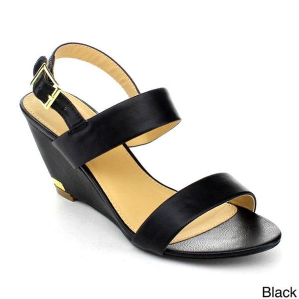 DBDK JAYNE-3 Women's Slingback Ankle Strap Sandals