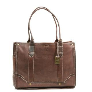 Frye Campus Shopper Handbag in Walnut