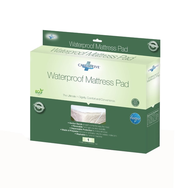 CareActive Waterproof Reusable Incontinence Mattress Protector