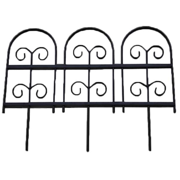Wrought Iron Garden Fence Edging