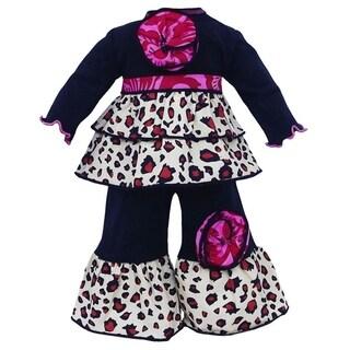 AnnLoren Jersey Leopard Doll Outfit