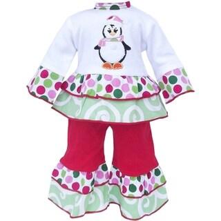 AnnLoren Christmas Penguin Doll Outfit