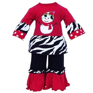 AnnLoren Chilly Snowman Christmas Doll Outfit