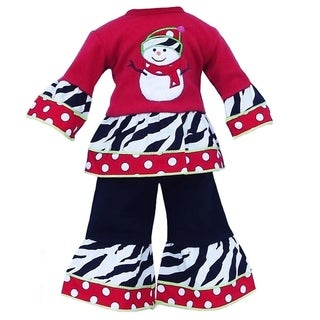 AnnLoren Christmas Snowman Holiday Doll Outfit