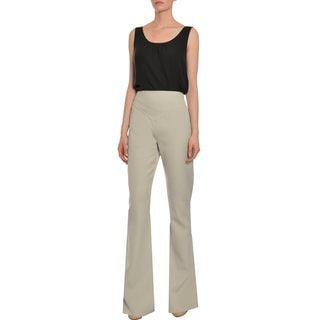Emanuel Ungaro Chic Wide Leg Trousers Pants